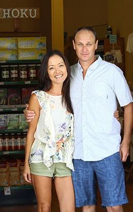 Margaret & Erik, Hoku Foods Kauai