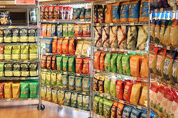 Organic Chip Selection at Hoku Foods
