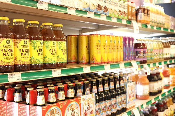Organic Juices and Teas at Hoku Foods