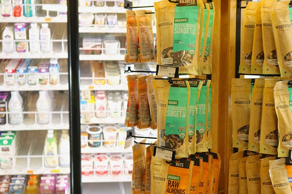 Organic/Raw Nut mixes and snacks at Hoku Foods