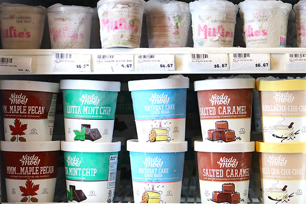 Organic Ice Cream at Hoku Foods