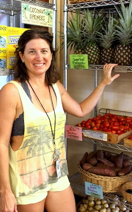 Fresh, local, organic produce at Hoku Foods Kapaa